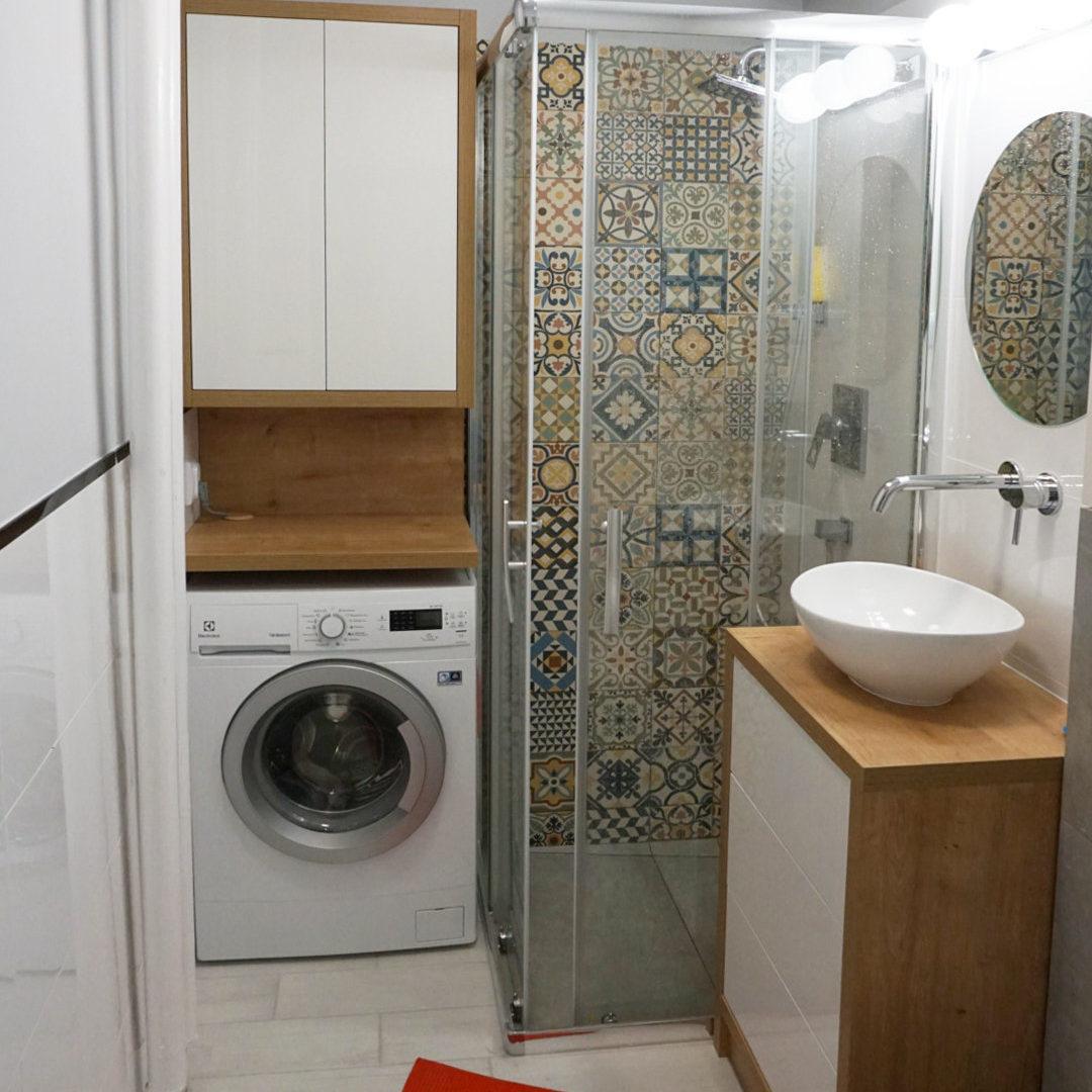 Projekt łazienki 3m2 Gdynia Ids Projektowanie Wnętrz